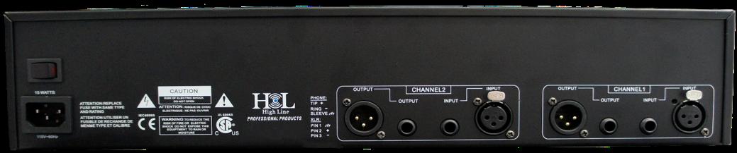 Q-231 Ecualizador Estéreo 31 Bandas por Canal High Line