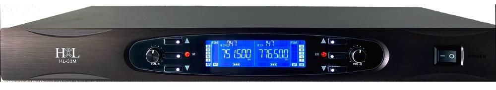HL HL-33M SISTEMA INALÁMBRICO DOBLE DE MANO DIGITAL UHF