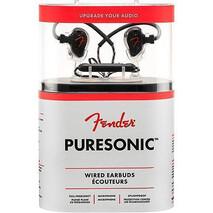 Audifonos Fender Puresonic Con Cable Negro Metalico
