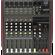 HS6-USB Consola 6 canales 280w+280w EQ, USB, BLUETOOTH HIGH LINE